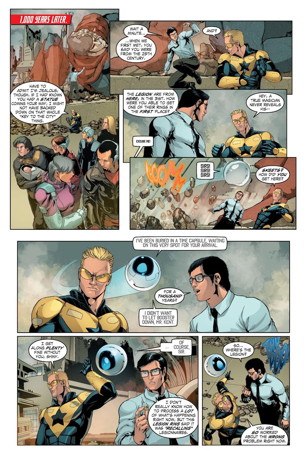 Read online Smallville Season 11 [II] comic -  Issue # TPB 4 - 19
