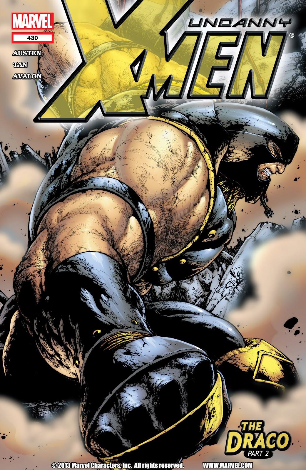 Uncanny X-Men (1963) 430 Page 1