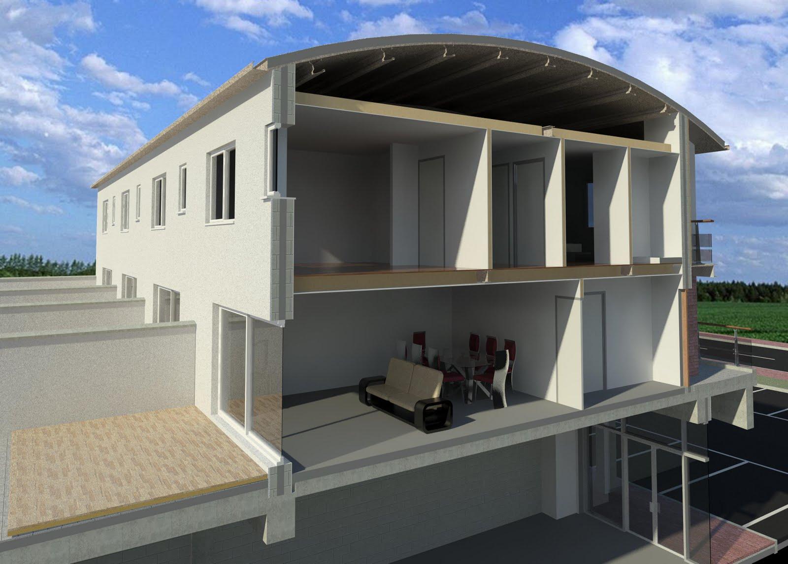 Revit detail 06 1 revit project the experiment intro for Revit architecture modern house design 8