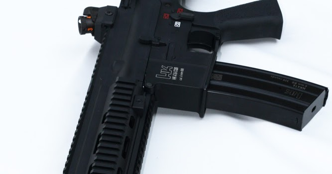 Pyramyd Airsoft Blog: Ripping open the VFC HK416 CQB to get