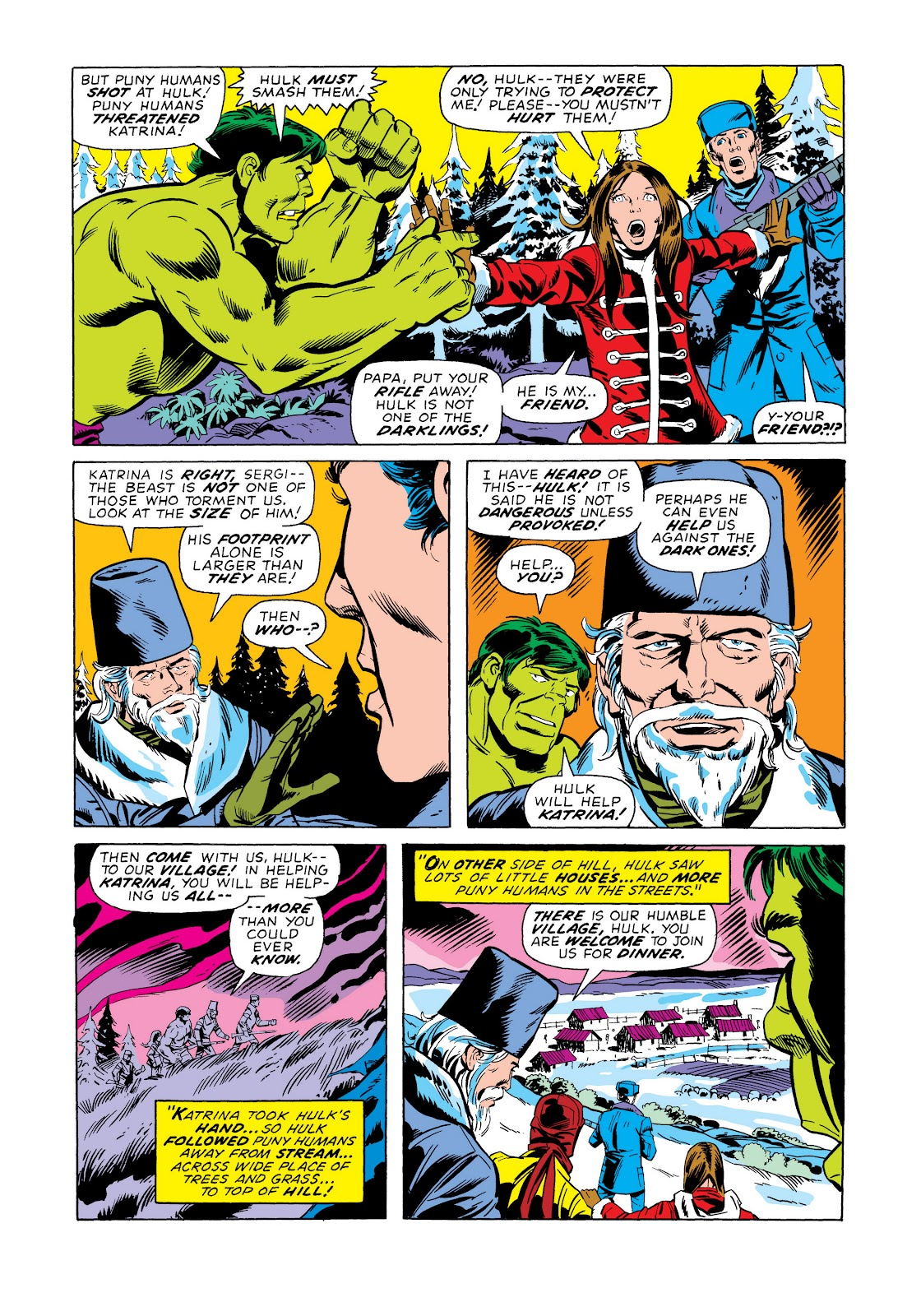 Read online Marvel Masterworks: The Incredible Hulk comic -  Issue # TPB 11 (Part 2) - 6