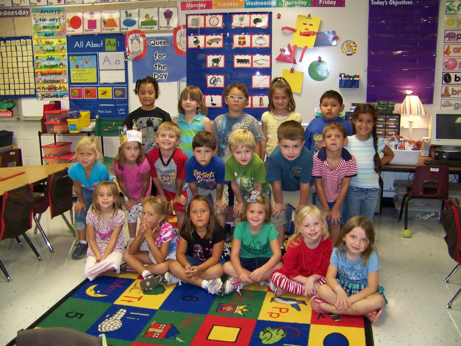 Kindergarten Classroom: Mrs. Pinkley's Kindergarten Class