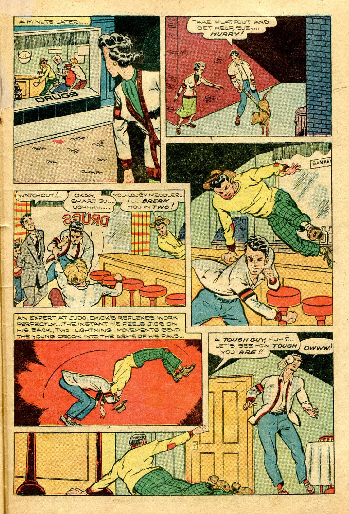 Read online Shadow Comics comic -  Issue #96 - 41