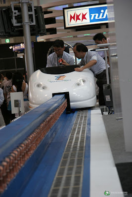 Personal Maglev Train Pods Presented At Ceatec Mark S