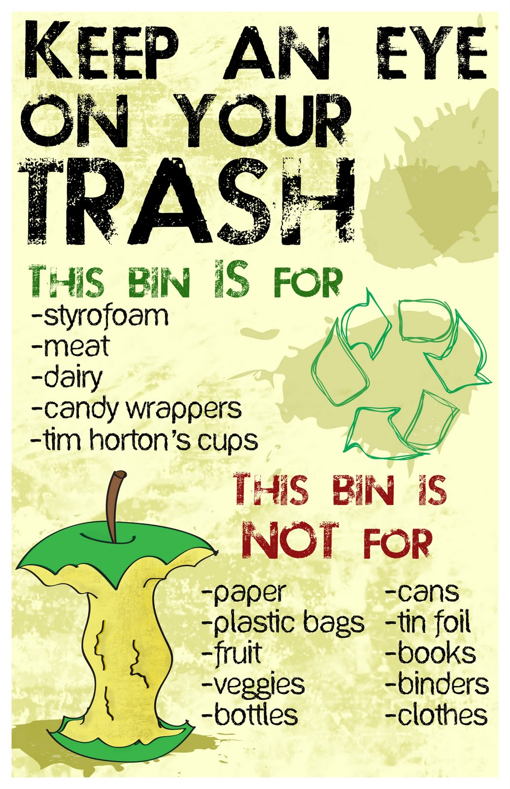 Project Earth Garbage Reminders