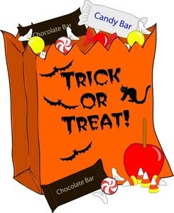 Halloween Clipart: Trick Or Treat Clipart