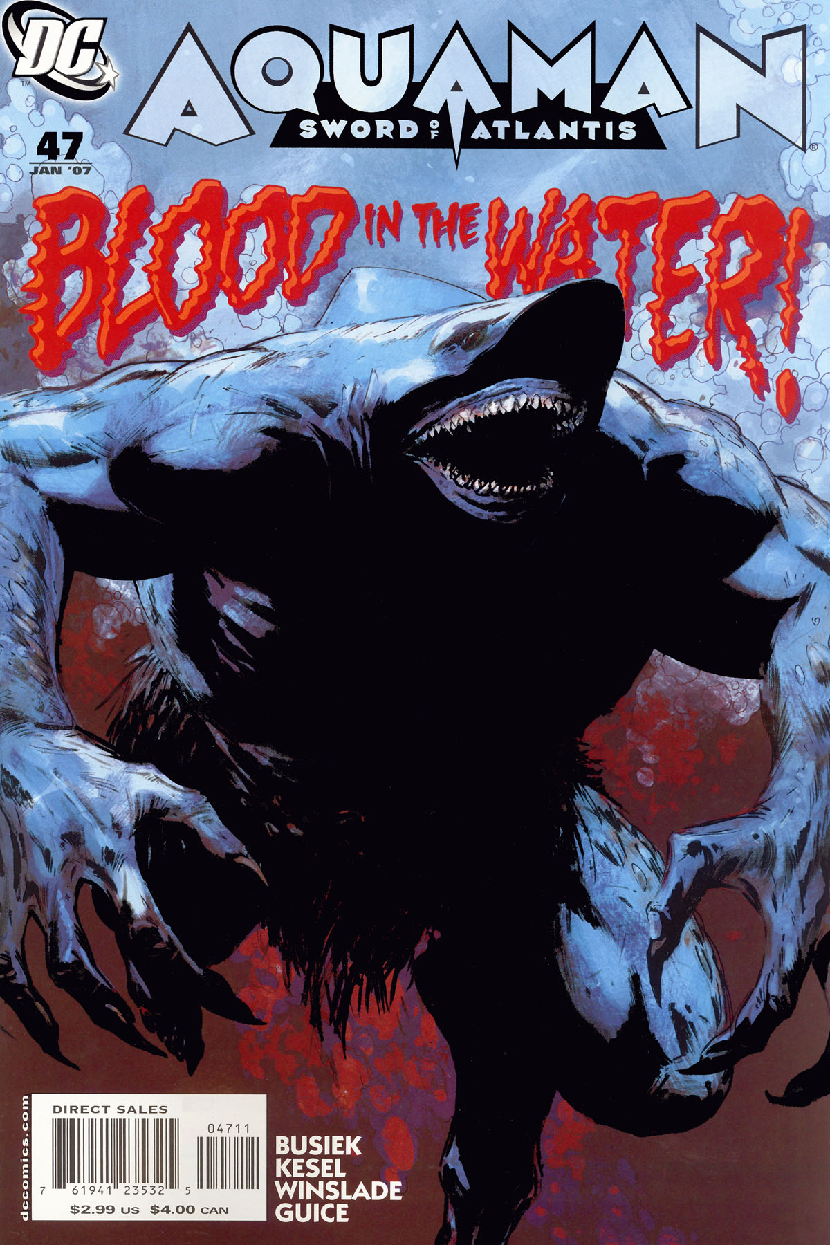 Read online Aquaman: Sword of Atlantis comic -  Issue #47 - 1