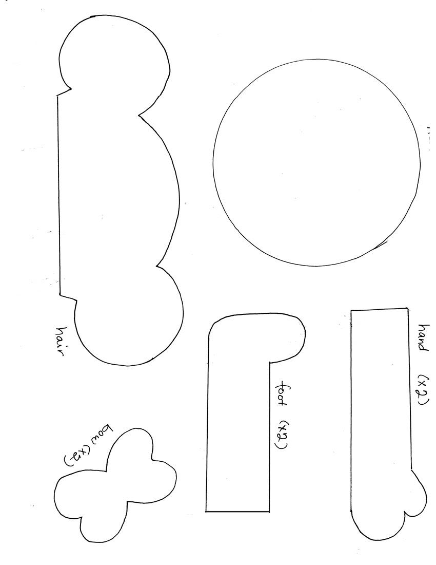 Paper Dolls Quilt Pattern – Shiny Happy World  |Everyday Paper Dolls Pattern