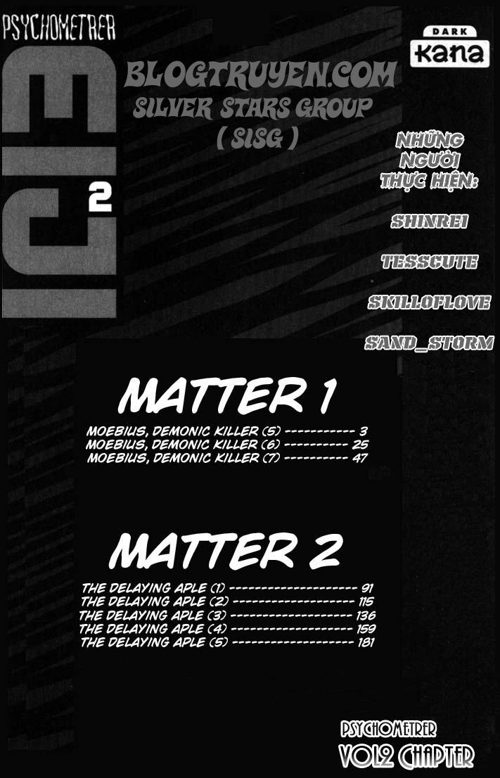 Psychometrer Eiji chapter 9 trang 2