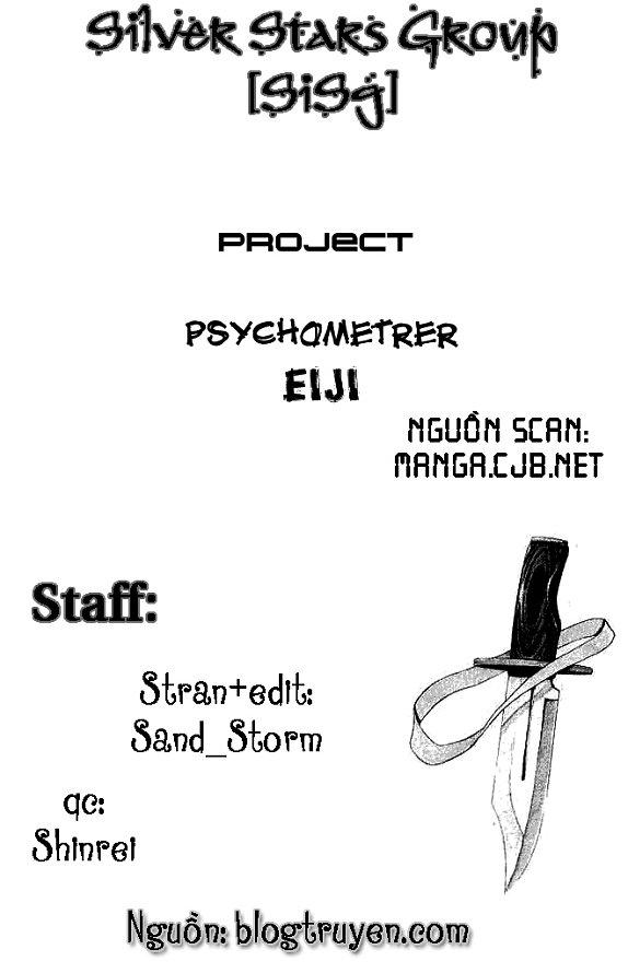 Psychometrer Eiji chapter 3 trang 2