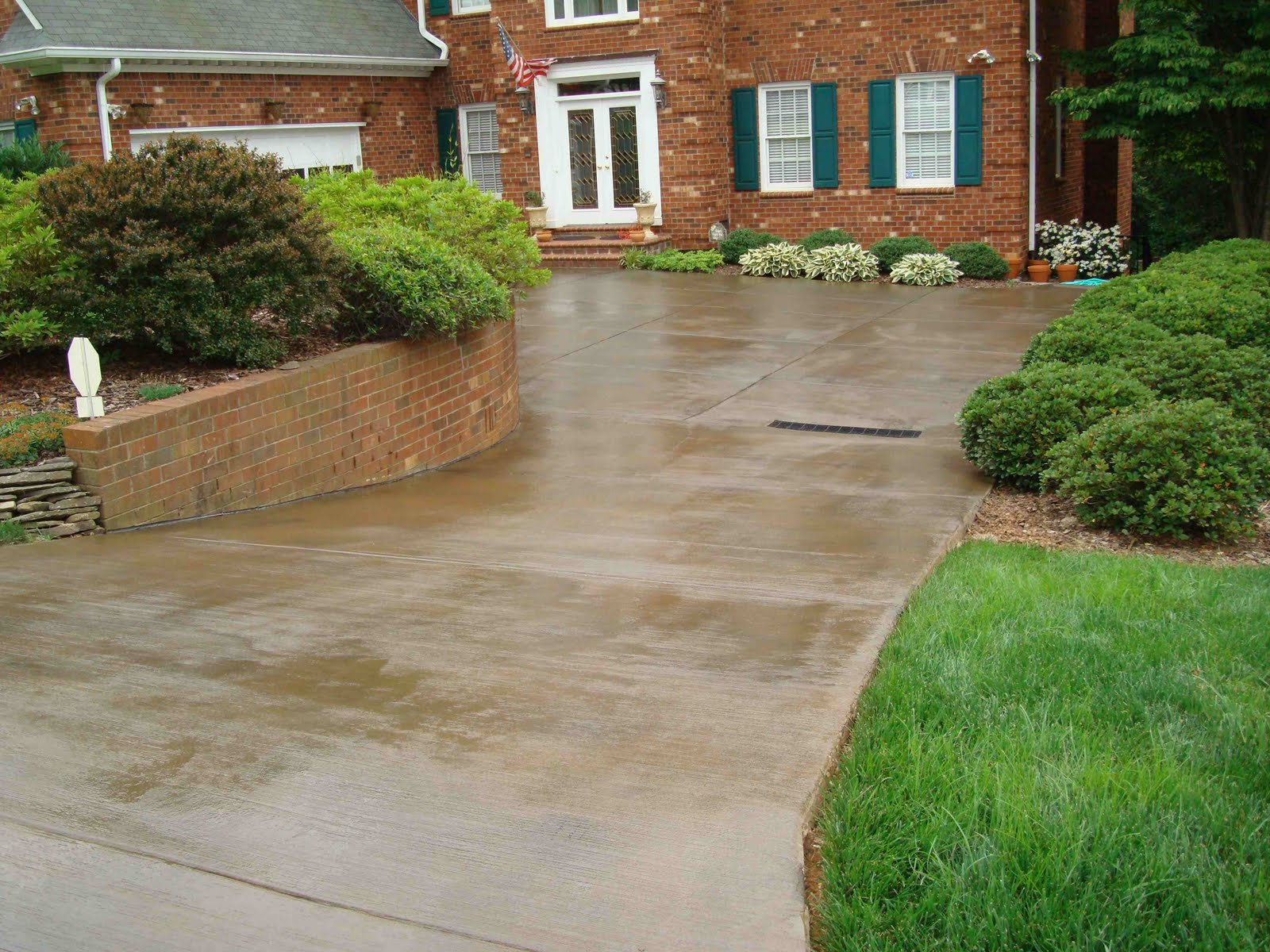 Atlantic Coast Concrete Stained Concrete Driveway