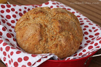 Irish Wheaten Bread {Brown Soda Bread}