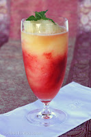 Raspberry-Citrus Slushies