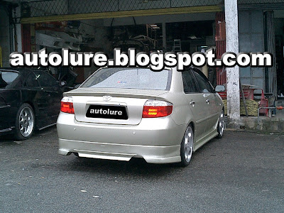Autolure Stylish Toyota Vios