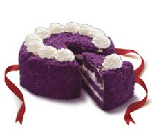 Ube Cake Red Ribbon