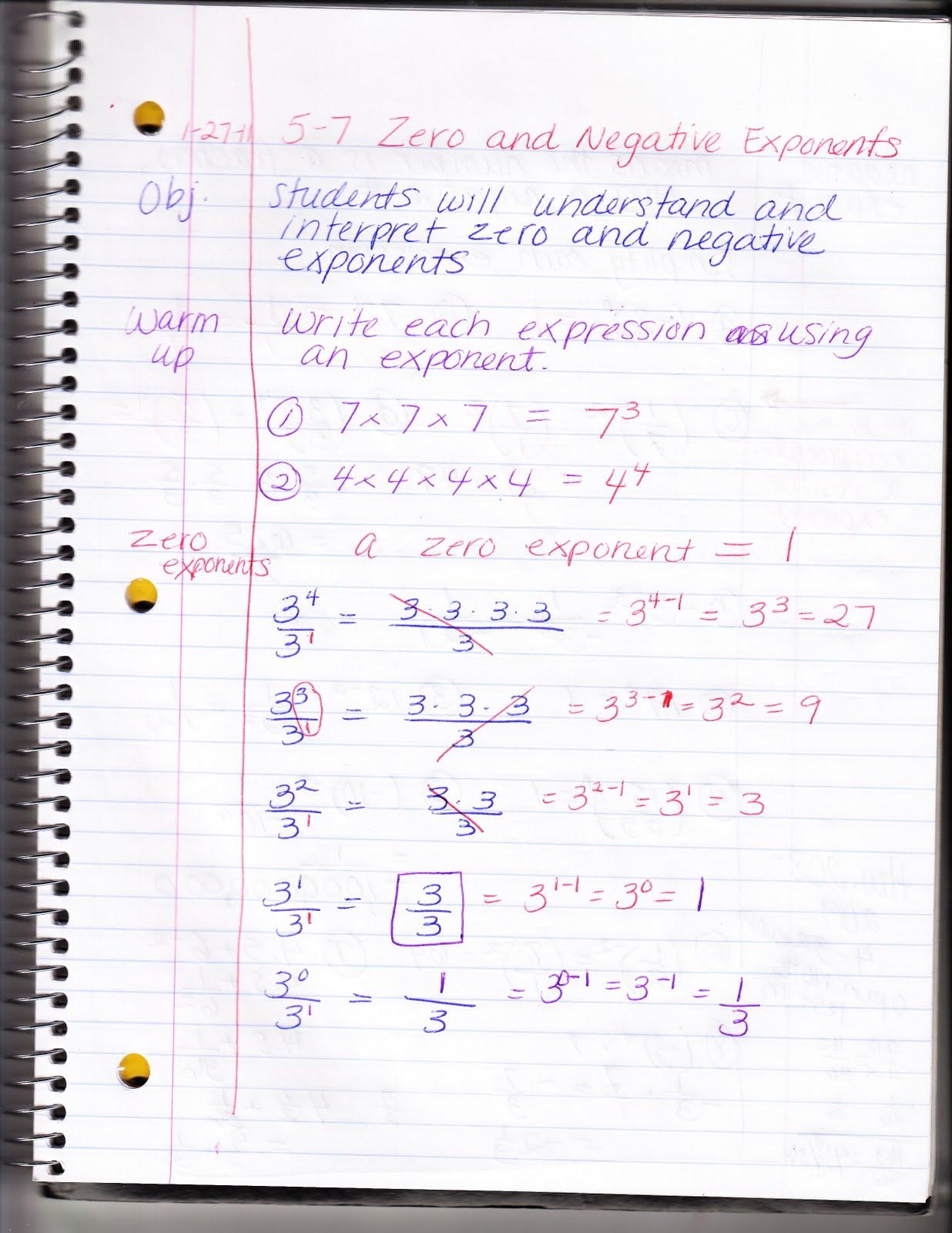 Ms Jean S Algebra Readiness Blog 5 7 Zero And Negative