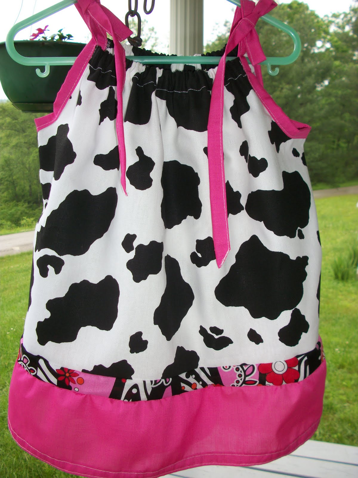 Creative Chevy05chick Sews Cow Print Hot Pink Amp Hot Pink