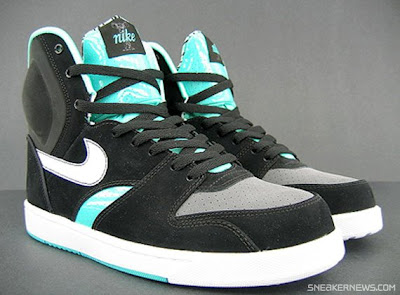 SoleSurvivor Detroit  Nike RT1 High - Black - Azure - Dark Grey 45f97719c