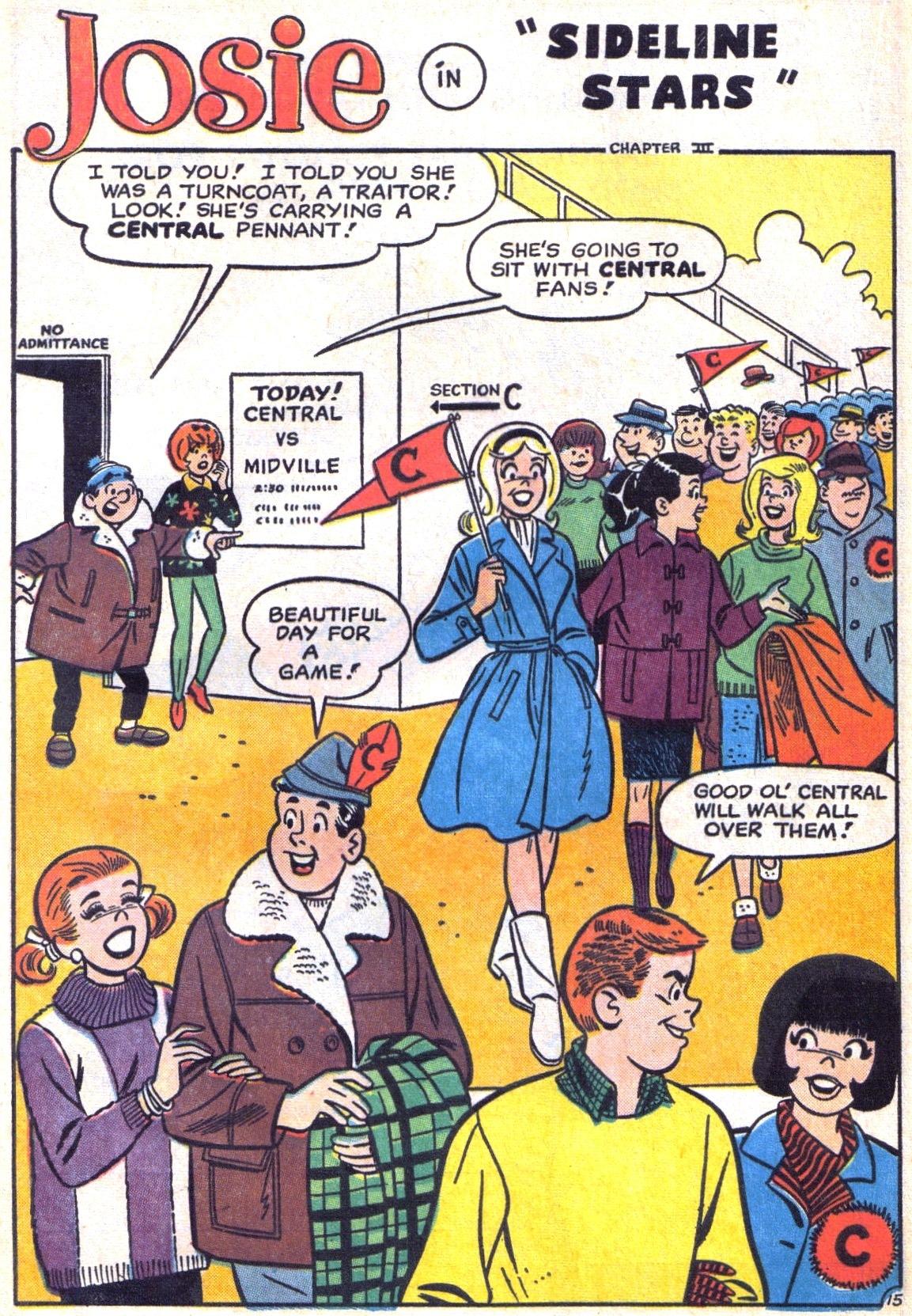 Read online She's Josie comic -  Issue #10 - 20