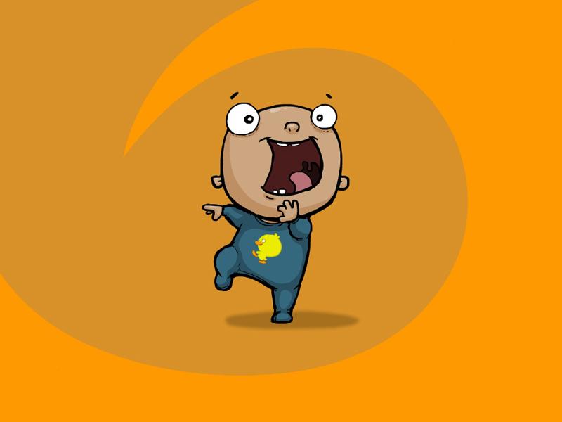 Cartoon Character Design: Character Design - Cartoon Baby