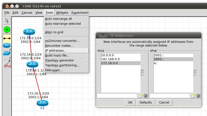 CORE Blog: custom IP address generator