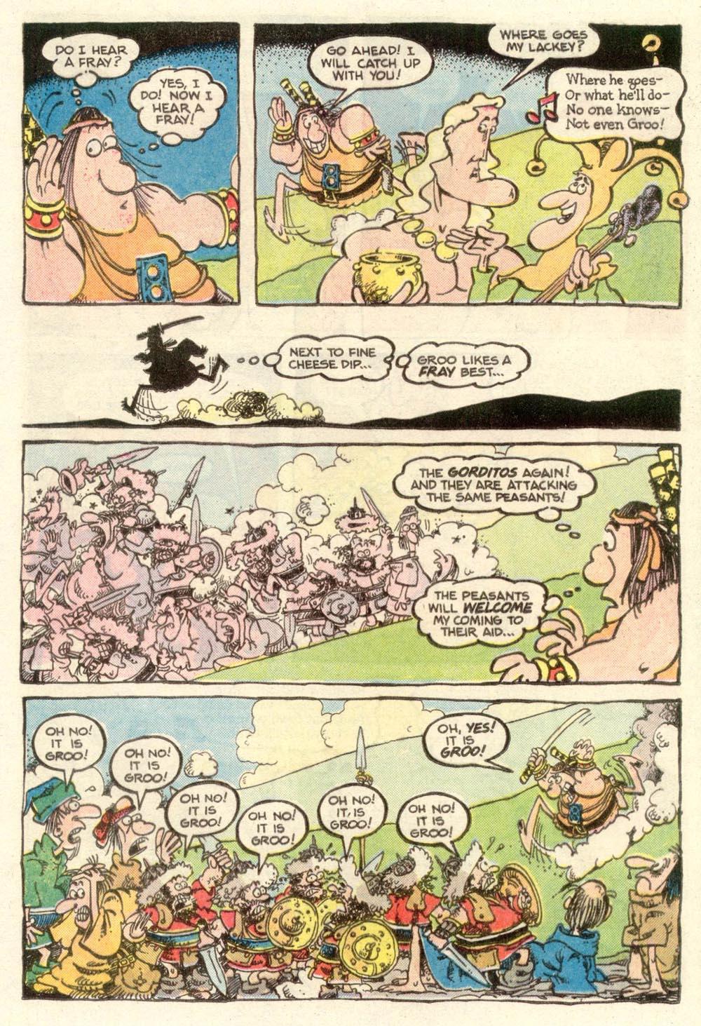 Read online Sergio Aragonés Groo the Wanderer comic -  Issue #11 - 8