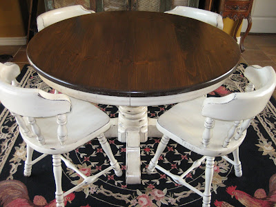 European Paint Finishes Ethan Allen French Farmhouse Table Amp Chairs