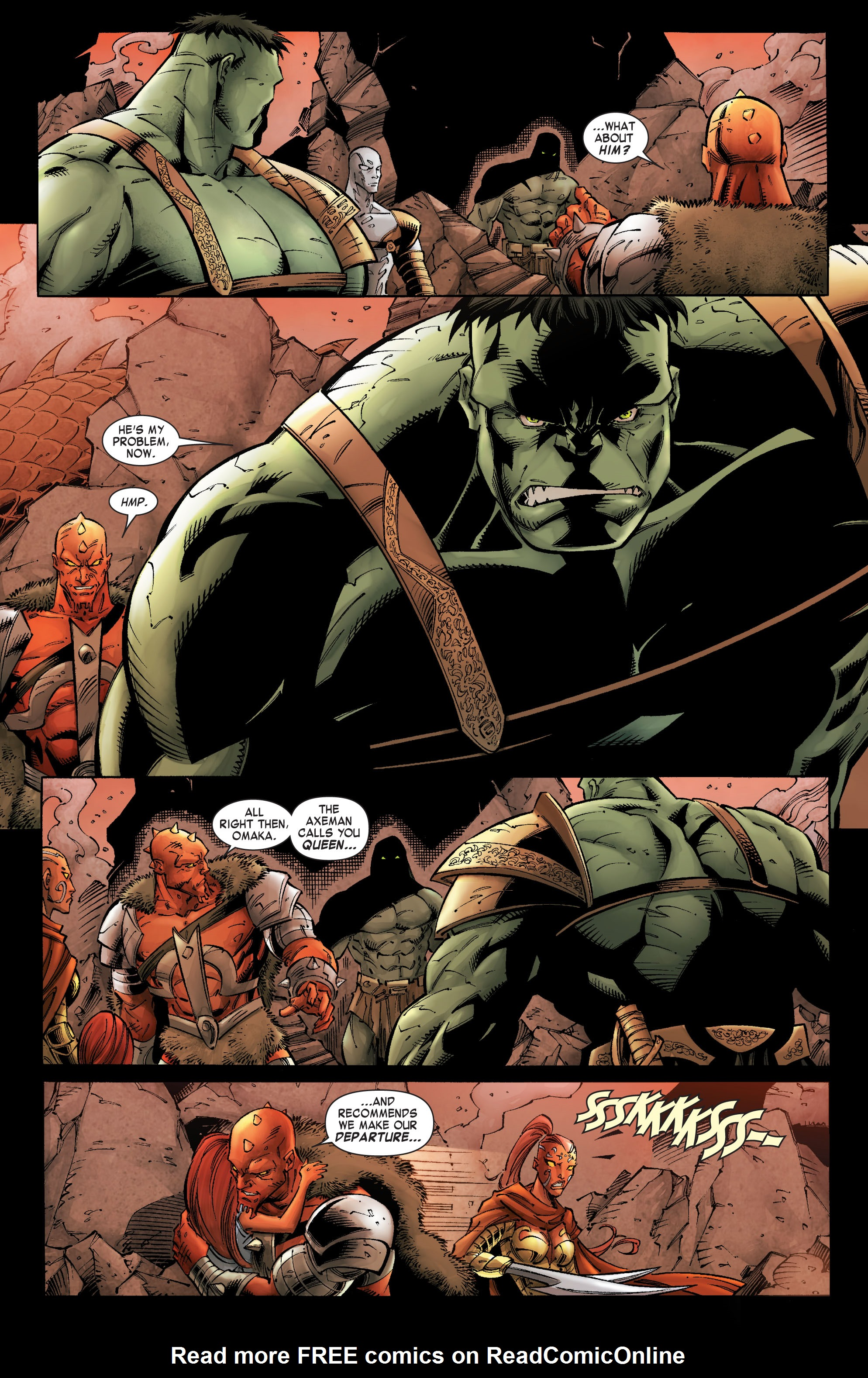 Read online Skaar: Son of Hulk comic -  Issue #9 - 15