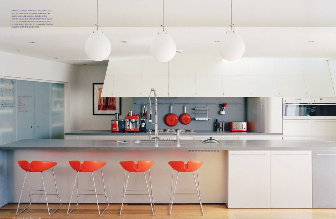 1 Orange Kitchen