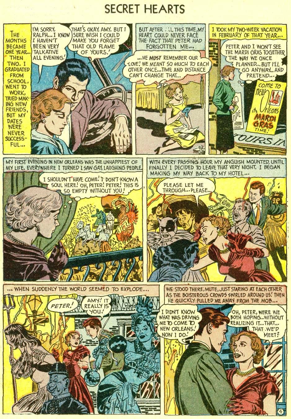Read online Secret Hearts comic -  Issue #21 - 14