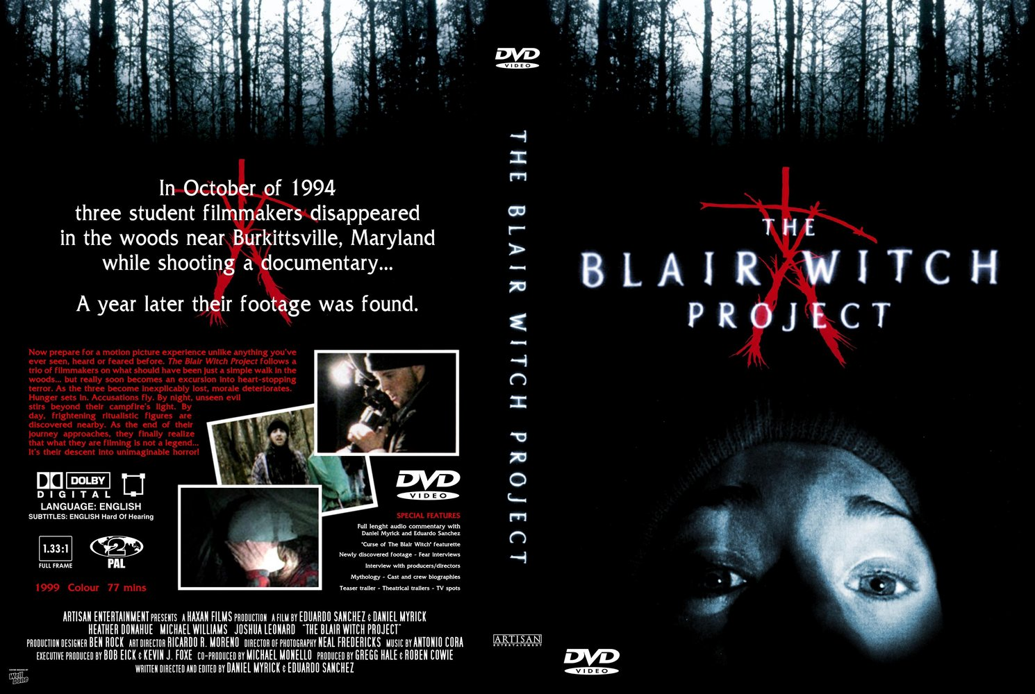 bruja de Blair serie