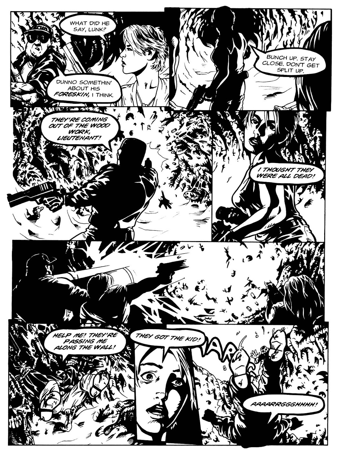 Read online Night of the Living Dead (1994) comic -  Issue #3 - 28