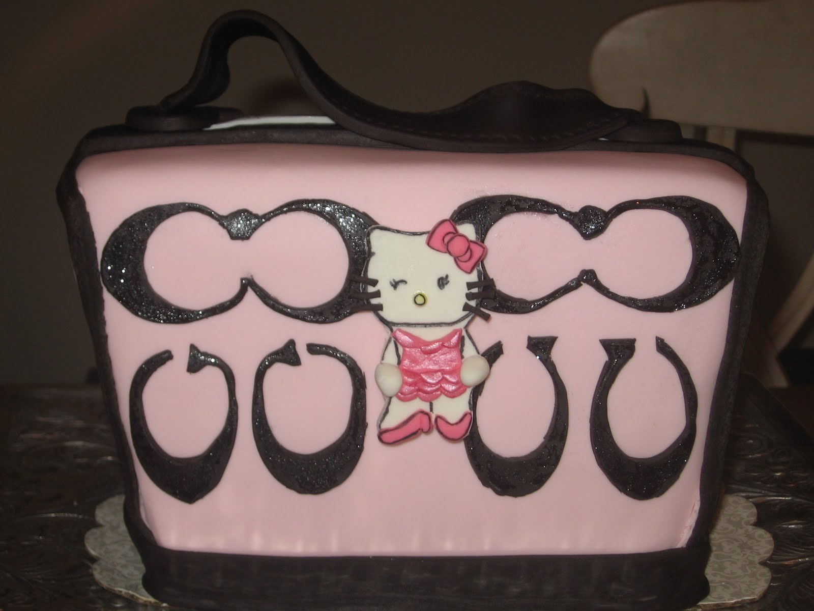 Our Cakes Throughout The Years Hello Kitty Coach Handbag Cake