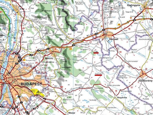 tóalmás térkép MAGYAR BARANGOLÓ: Tura és Tóalmás tóalmás térkép