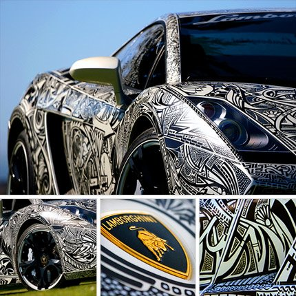 top cool cars: Cool Car Paint Jobs
