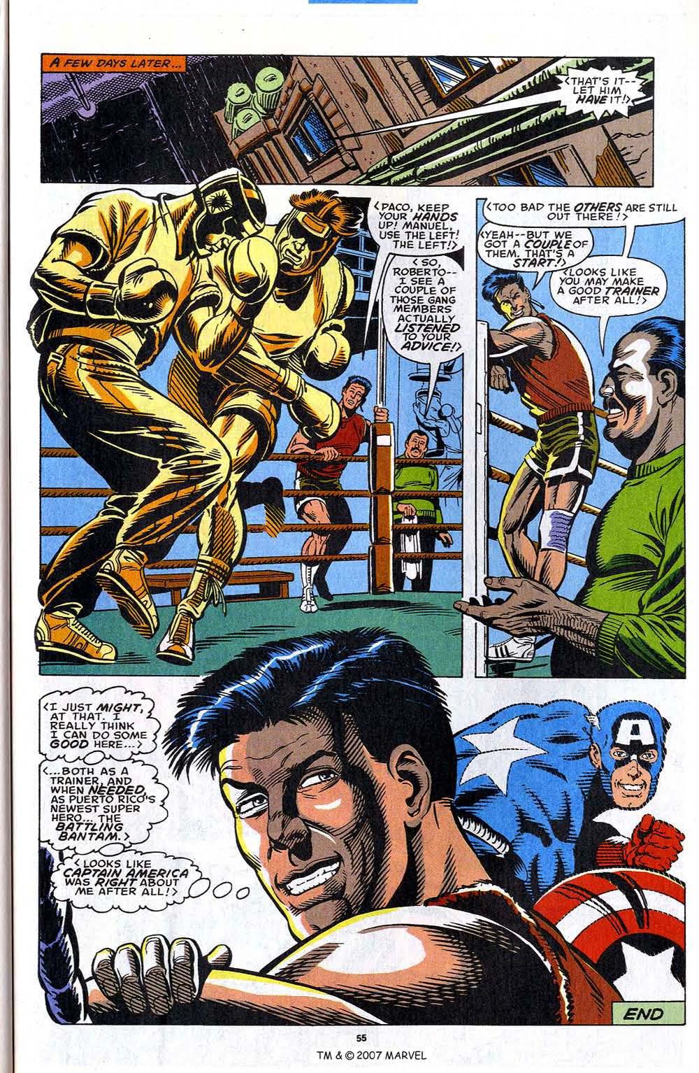 Read online Captain America (1968) comic -  Issue # _Annual 12 - 57