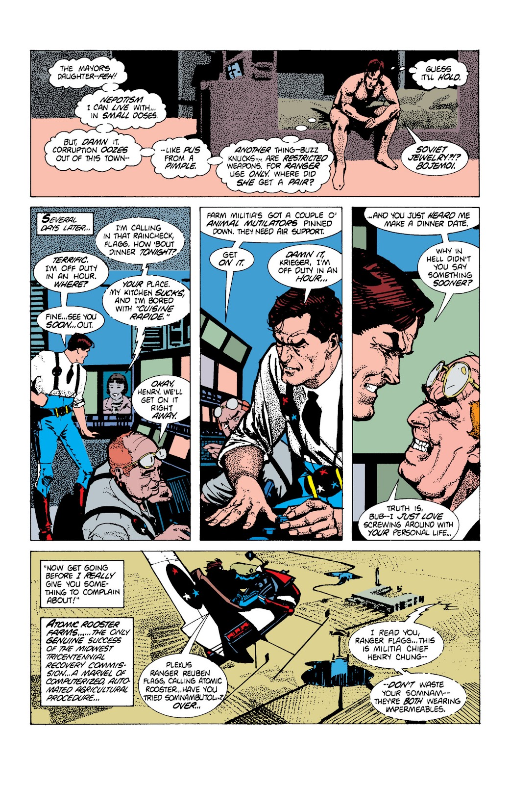 American Flagg! issue Definitive Collection (Part 1) - Page 72