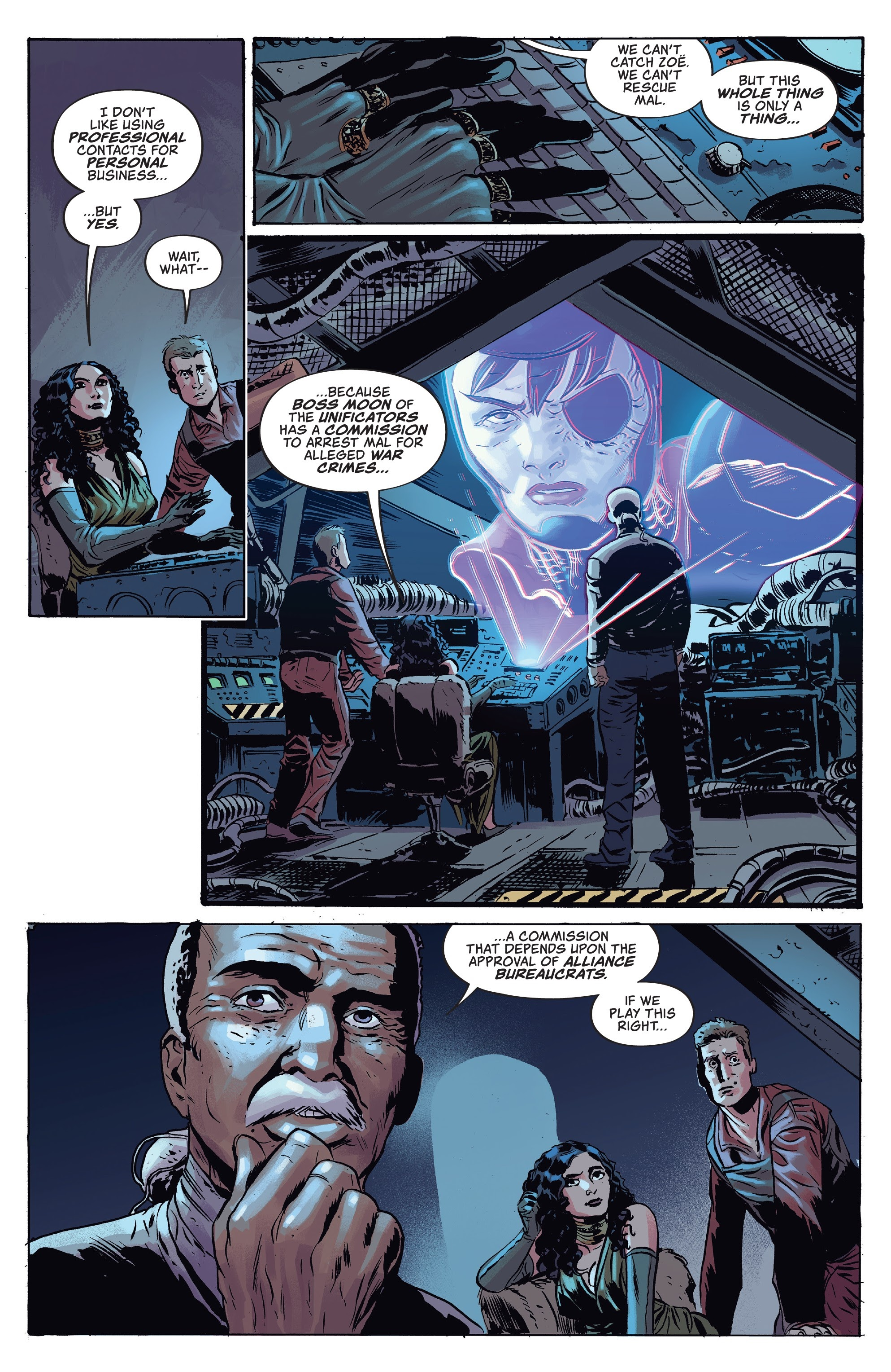 Read online Firefly comic -  Issue #7 - 12