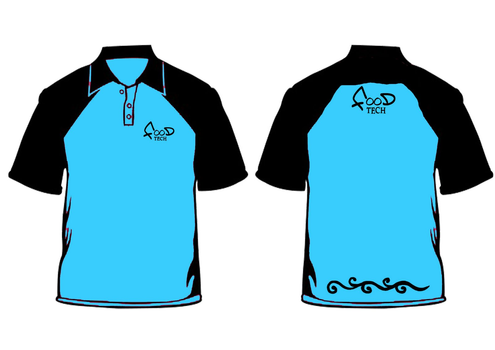 T Shirt Design With Collar Template