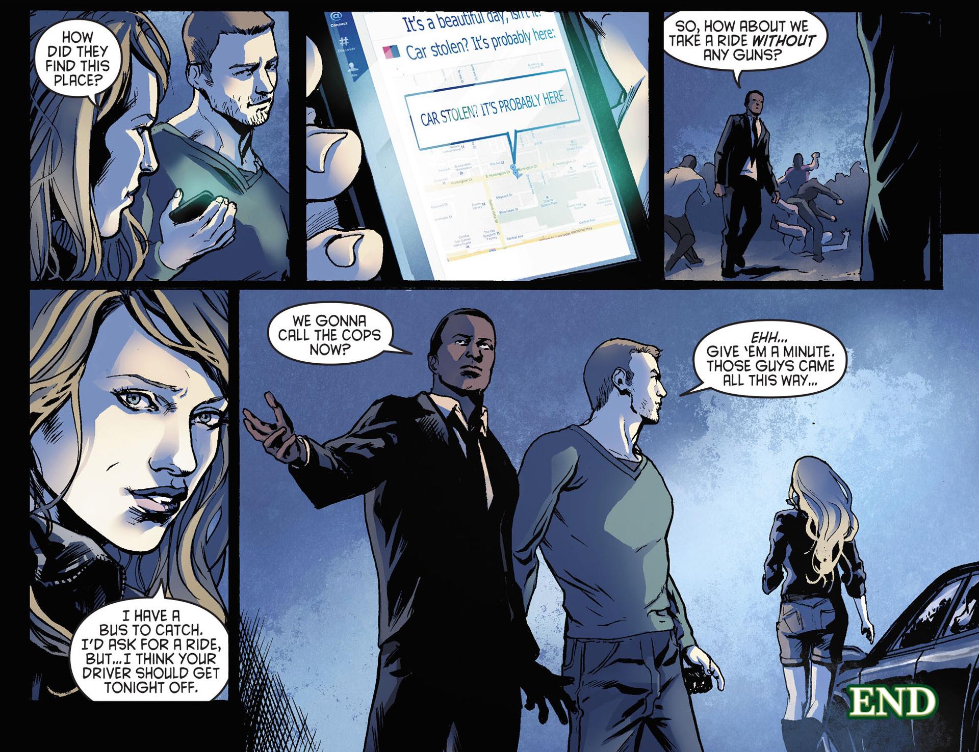 Read online Arrow [II] comic -  Issue #21 - 22