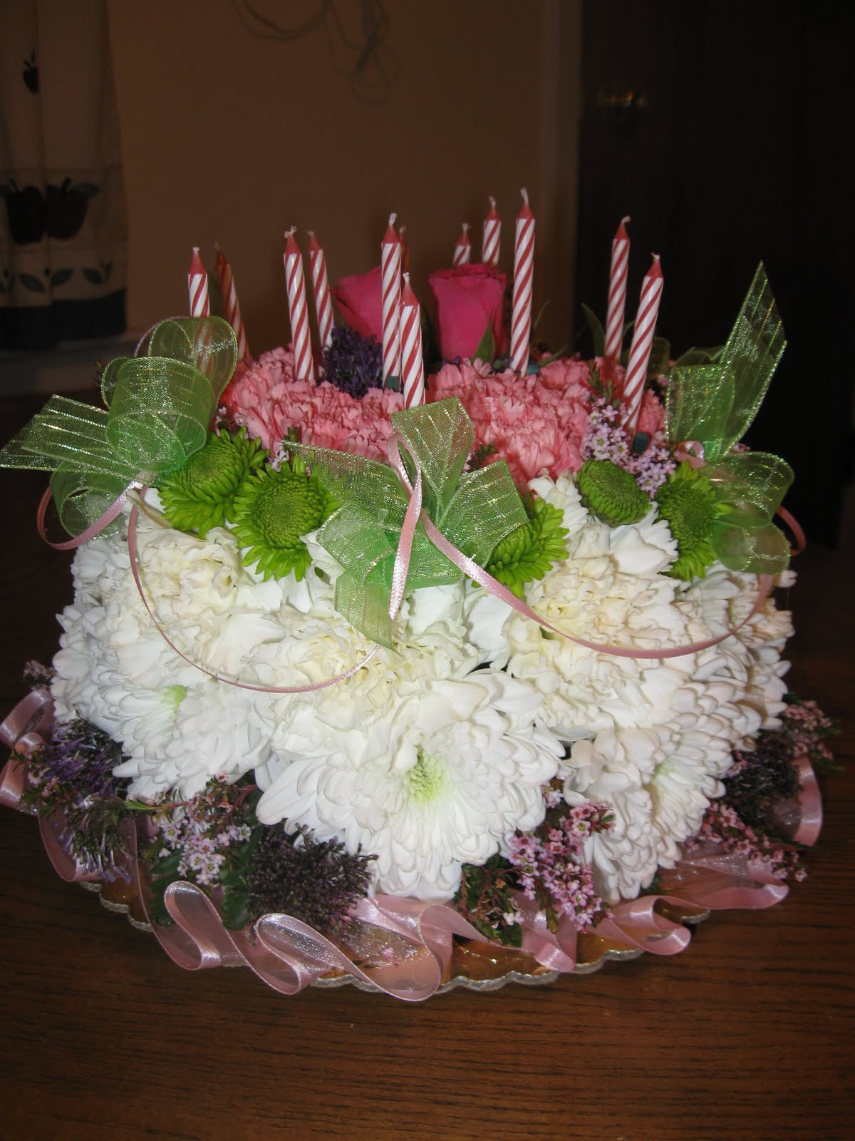 Flowers Flower Birthday Cakes At First I Didnt Se