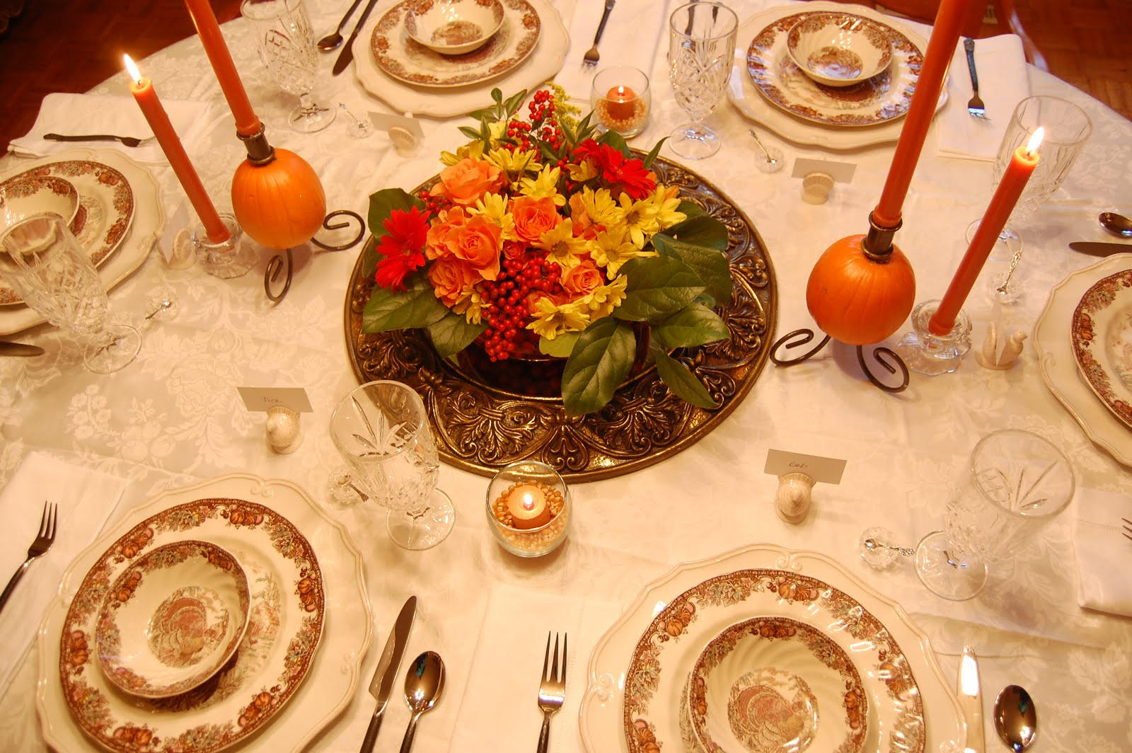 Ma Maison Thanksgiving Table