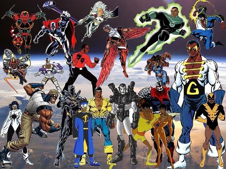 Favorite Media: Black SuperHero Blog: Black Superheroes On The Web