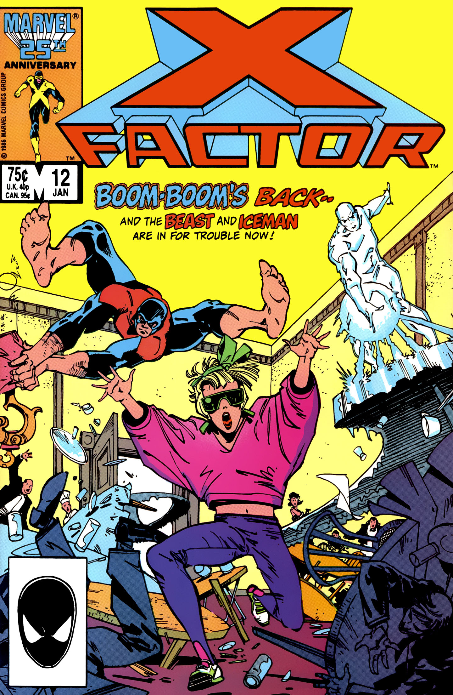 Read online X-Factor (1986) comic -  Issue #12 - 1