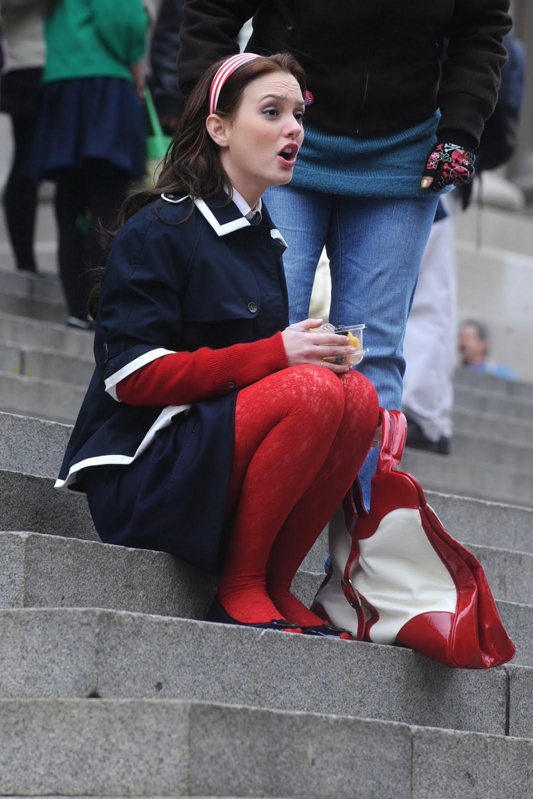 Mini falda con medias - 3 8