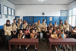 Community Service SMA 17 Palembang