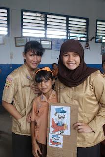 Community Service di SMA Plus Negeri 17 Palembang