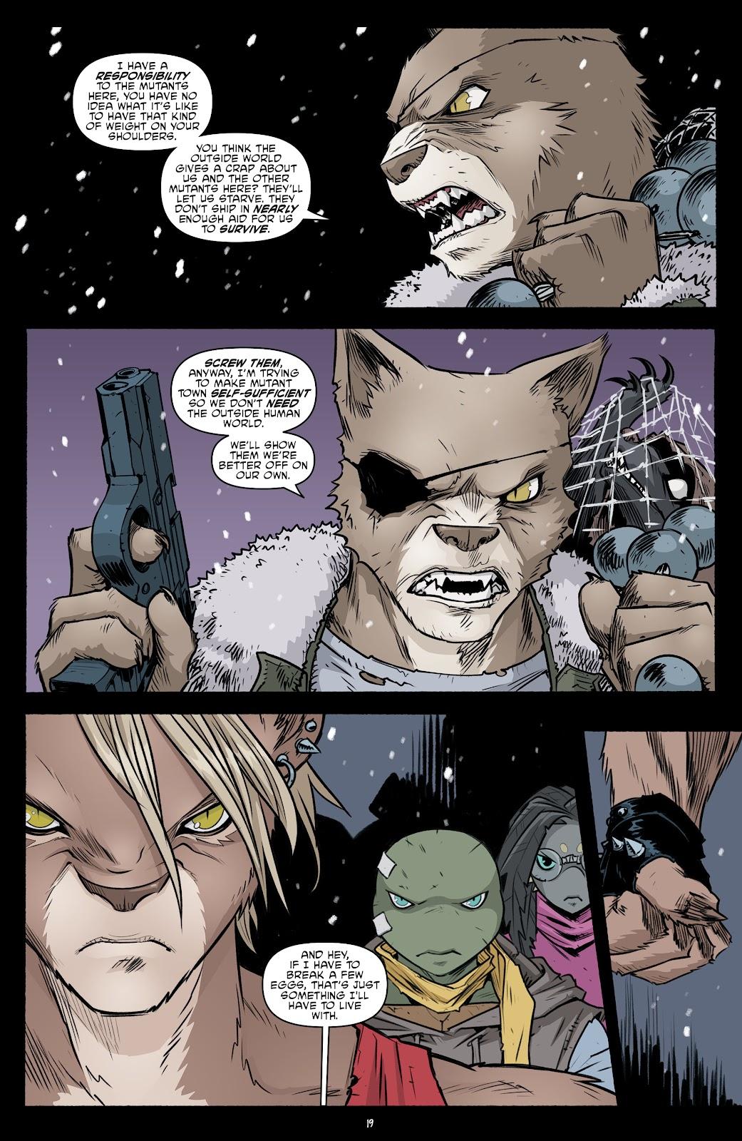 Read online Teenage Mutant Ninja Turtles (2011) comic -  Issue #103 - 21
