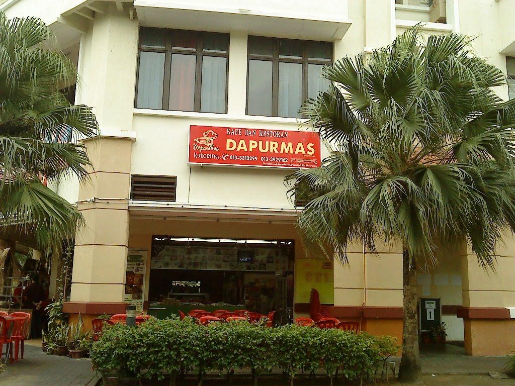 Restoran Dapur Emas Ni Terletak Di Kawasan Perniagaan Perceint 9 Putrajaya Kalau Nak Pergi Senang Jer Cari Stesen Petronas Dekat Belakang