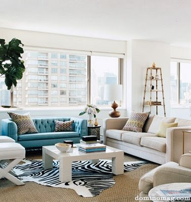 Inspire My House Pretty Hollywood Glam Amp Turquoise Sofa